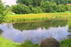 Cuxland, Stinstedt, Am Teich, Sommer 2004
