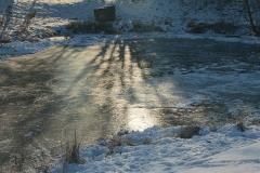 Cuxland, Stinstedt, Am Teich, Winter 2013