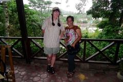 Sumatra, Bukit Lawang Cottage, Start in den Regenwald bei strömendem Regen