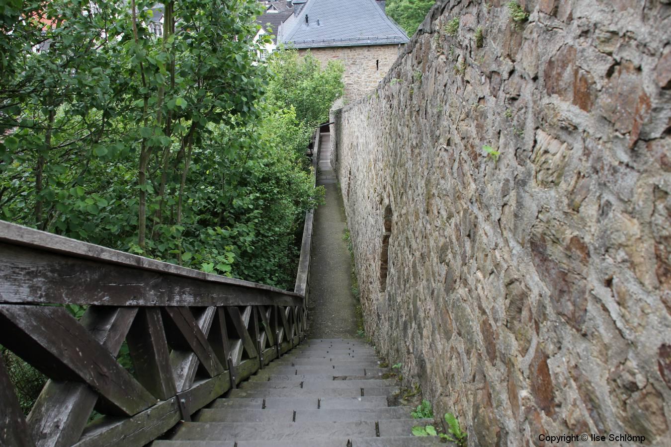Nordrhein-Westfalen, Bad Münstereifel, Wehrgang