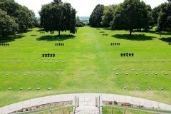 Frankreich, Normandie, La Cambe, Deutsche Kriegsgräberstätte