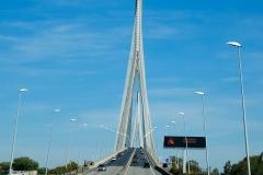 Frankreich, Normandie, Seinemündung, Pont de Normandie