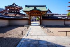 Japan, Osaka, Shitenno-ji-Tempel