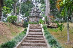 Indonesien, Java, Cangkuang-See, Candi Cangkuang Hindutempel