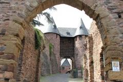 Nordrhein-Westfalen, Eifel, Heimbach, Burg Hengebach