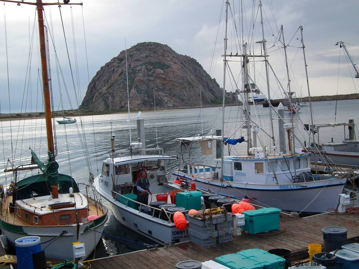 USA, Kalifornien, Morro Bay, Morro Rock