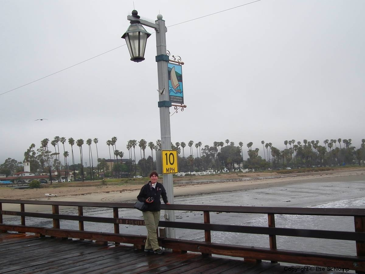 USA, Kalifornien, Santa Barbara, Stearns Wharf