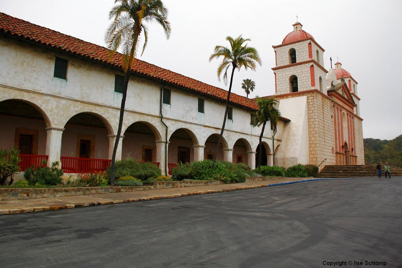 USA, Kalifornien, Santa Barbara, Mission, Kreuzgang