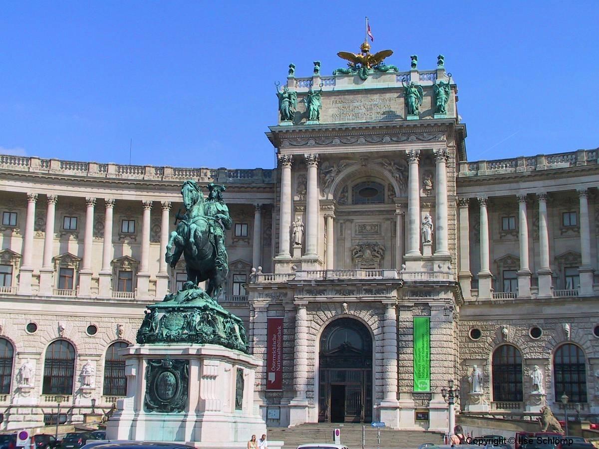 Österreich, Wien, Hofburg