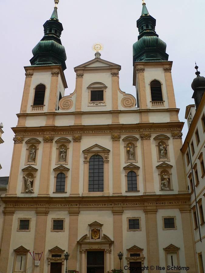 Österreich, Wien, Jesuitenkirche