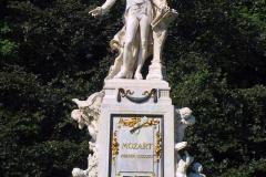 Österreich, Wien, Mozart-Denkmal