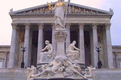 Österreich, Wien, Parlamentsgebäude