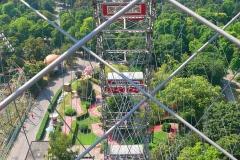 Wien, Blick vom Riesenrad Prater