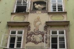 Wien, Schönlaterngasse, Basiliskenhaus