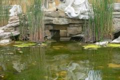 Wien, Schloss Schönbrunn, Brunnen Römische Ruine