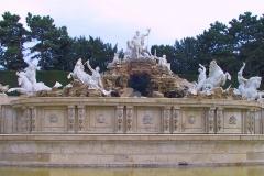 Wien, Schloss Schönbrunn, Neptunbrunnen