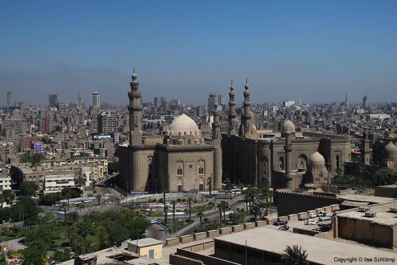 Ägypten, Blick von der Zitadelle auf Kairo