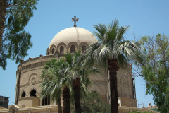 Ägypten, Kairo, Koptisches Viertel, Griechisch-orthodoxe Kirche St. Georg