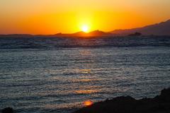 Ägypten, Rotes Meer, Sharm El Sheikh 2009, Sonnenaufgang