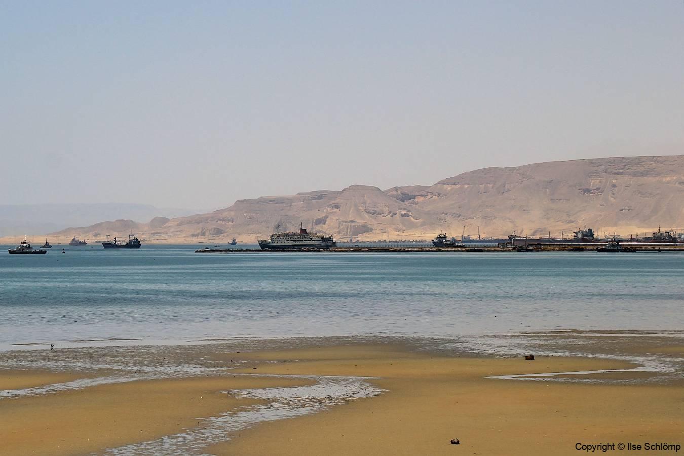 Ägypten, Einfahrt Suezkanal