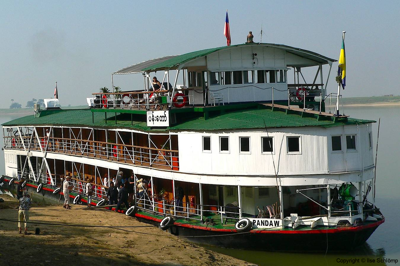 Myanmar, Irrawaddy, Pandaw