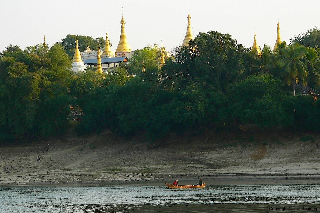 Myanmar, Auf dem Irrawaddy