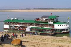 Myanmar, Irrawaddy, Wir gehen auf die Pandaw