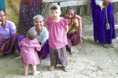 Myanmar, Am Irrawaddy, Besuch eines Dorfes