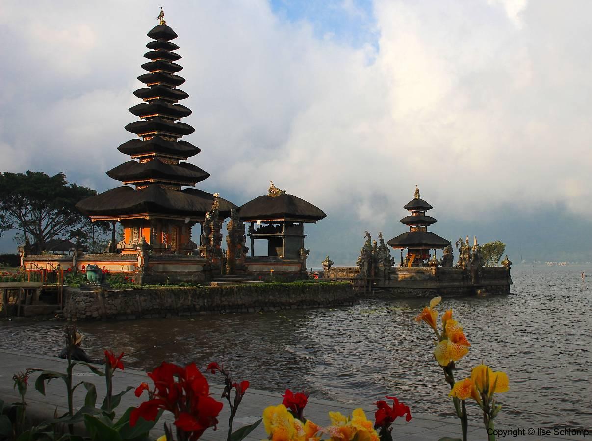 Bali, Bratan See mit Ulun Danu Tempel