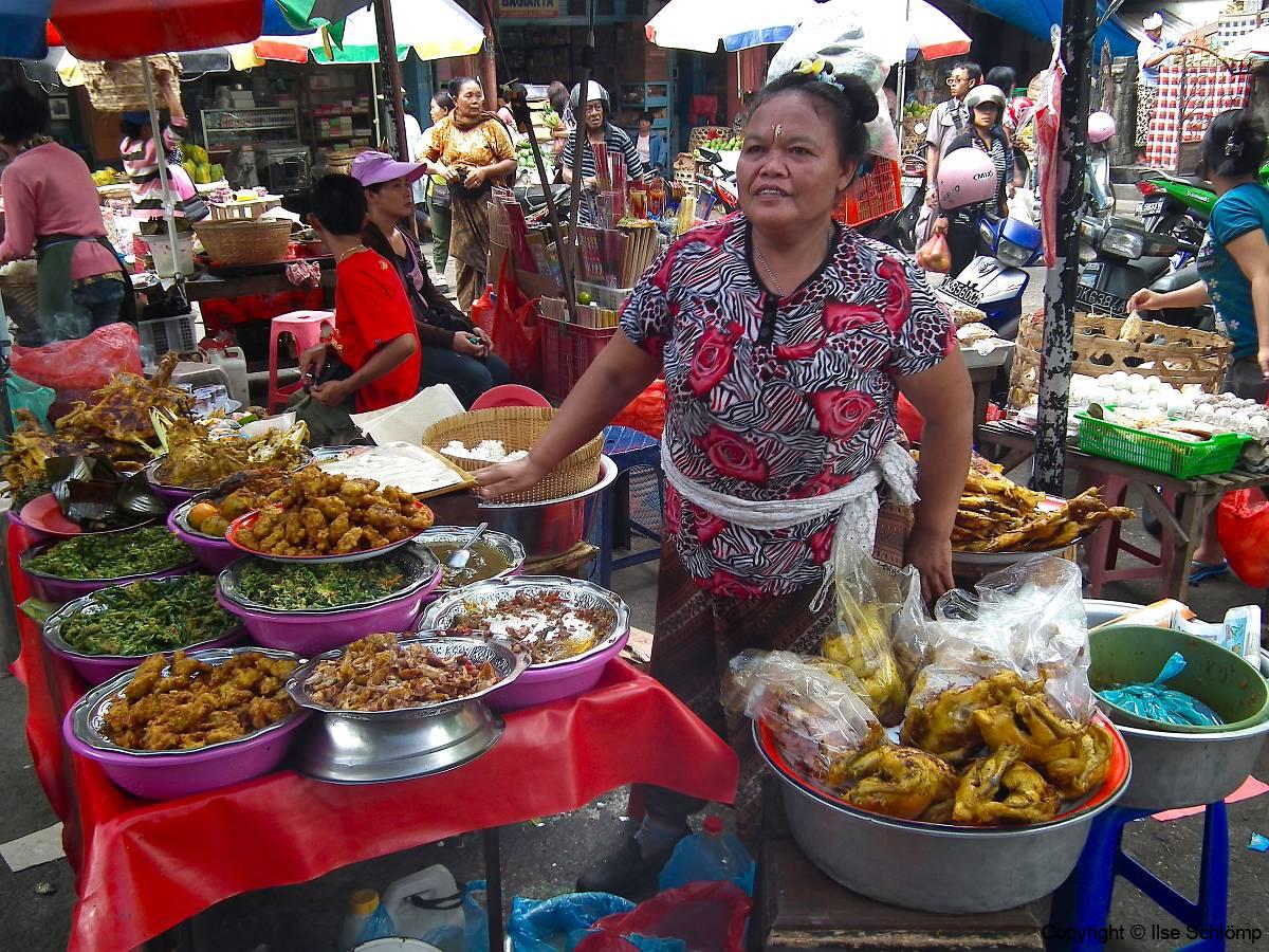 Bali, Denpasar, Markt