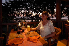 Bali, Puri Dajuma Cottages, Abendstimmung