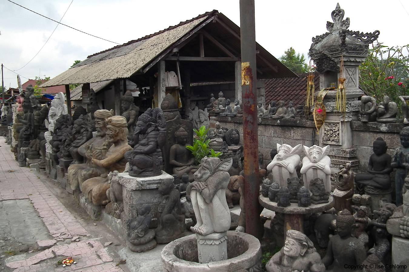 Bali, Steinkunst