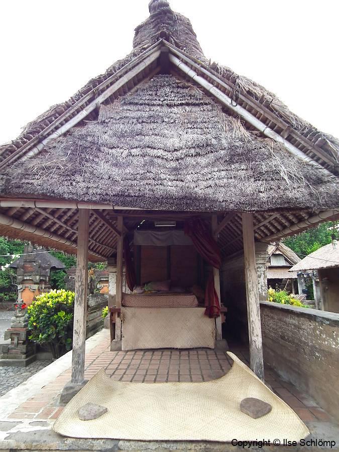 Bali, Typisch Balinesische Hausanlage