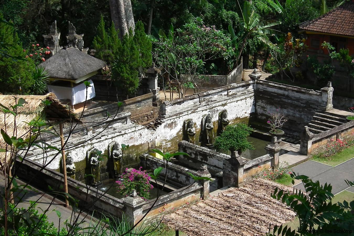 Bali, Goa Gajah Tempel, Elefantenhöhle Tempel