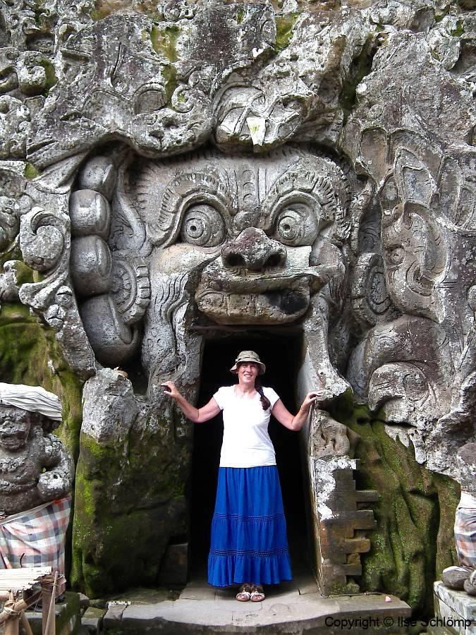 Bali, Goa Gajah Tempel, Elefantenhöhle-Tempel