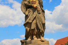 Bamberg, Statue der Heiligen Kunigunde