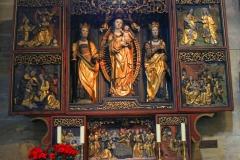 Bamberg, Bamberger Dom, spätgotischer Marienaltar