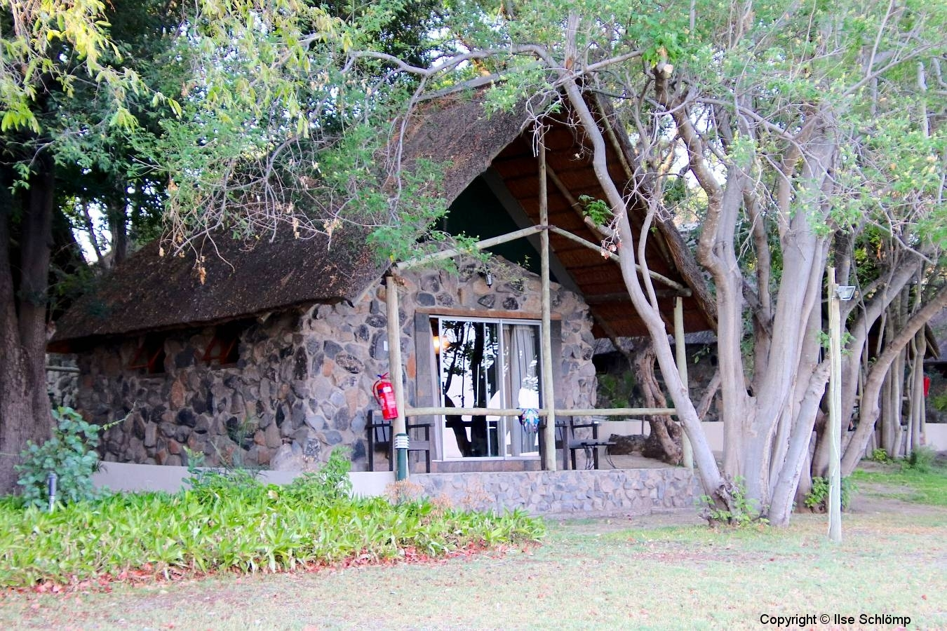 Botswana, Maun, Thamalakane River Lodge