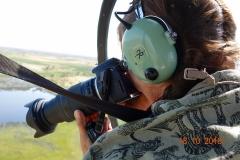 Botswana, Helikopter Rundflug über das Okavango Delta