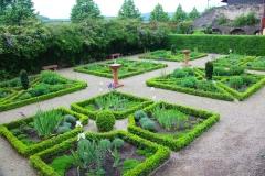 Braubach, Renaissancegarten, Schloss Philippsburg