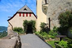 Braubach, Marksburg, Kräutergarten
