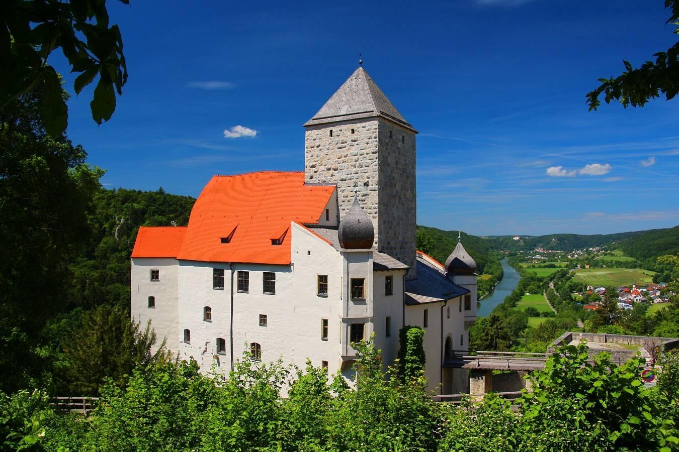 Burg Prunn, Altmühltal, Bayern