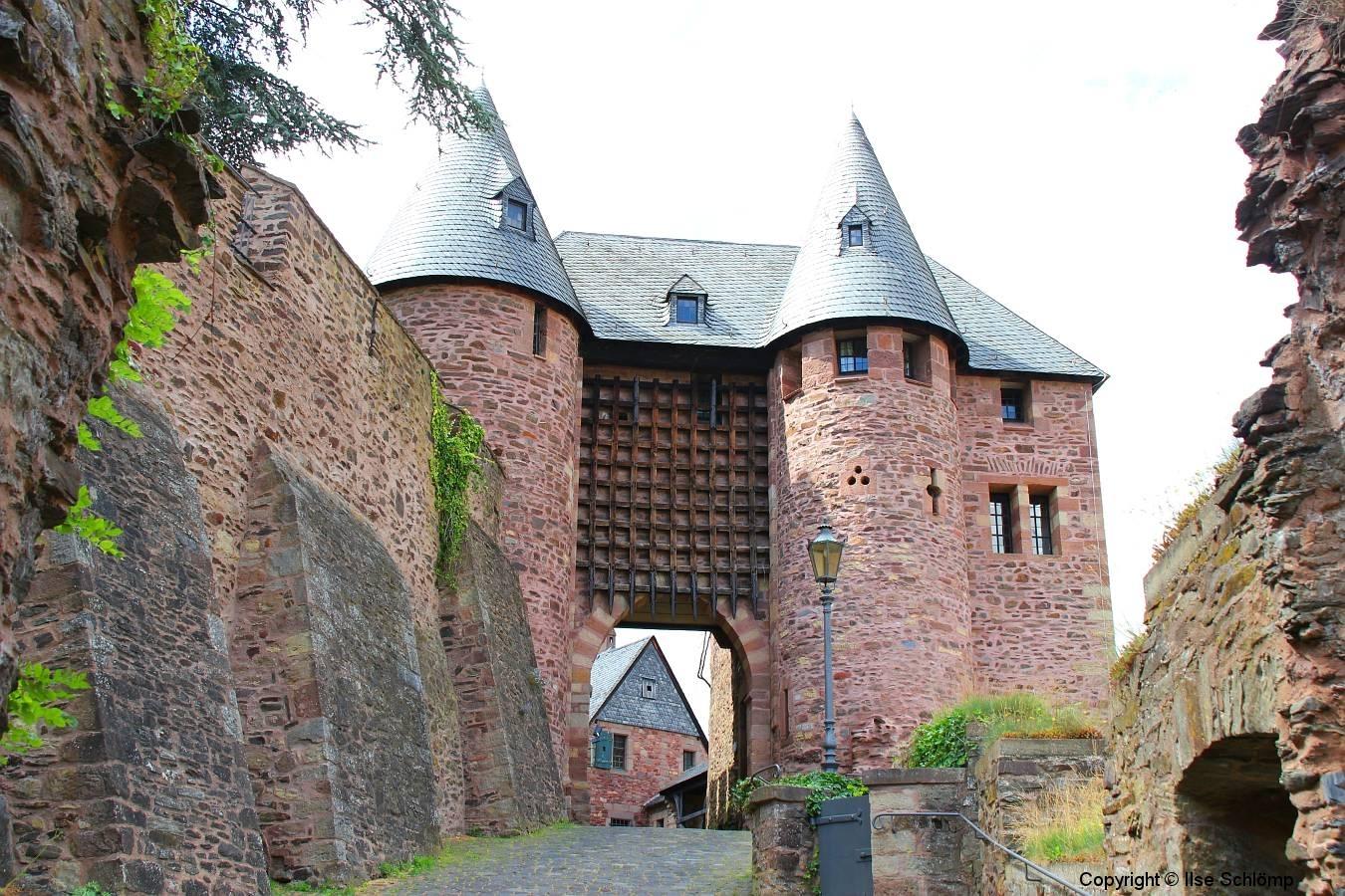 Burg Hengebach, Heimbach, Nordrhein-Westfalen