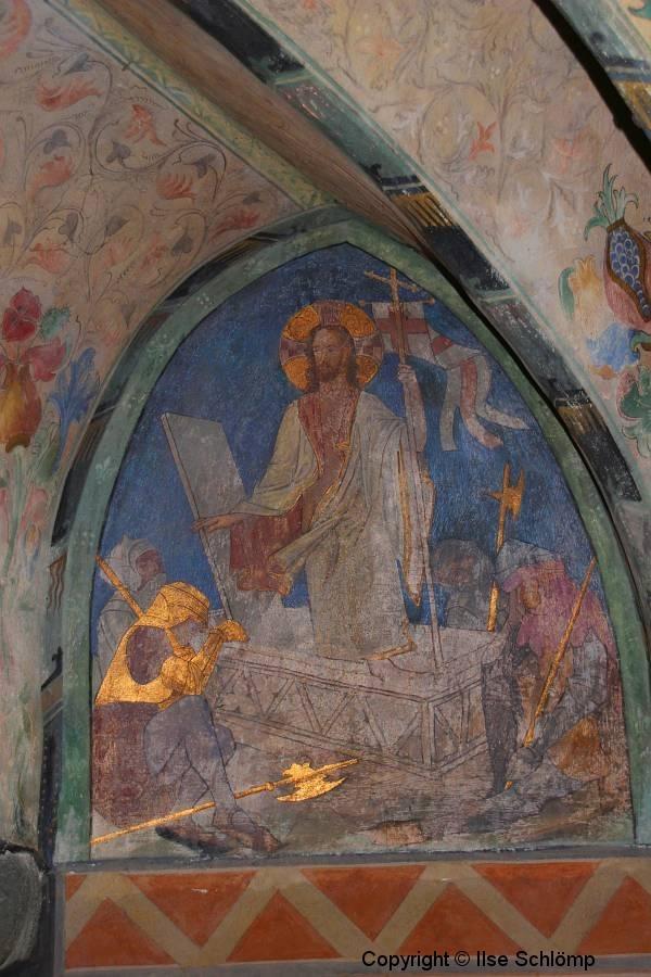 Marksburg, Braubach, Rheinland-Pfalz, Burgkapelle