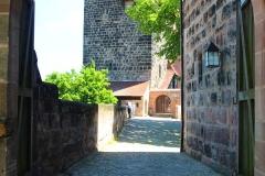 Nürnberger Burg, Nürnberg, Bayern, Fünfeckturm