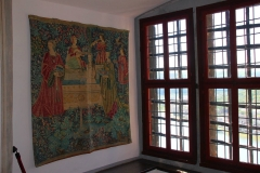 Marksburg, Braubach, Rheinland-Pfalz, Rittersaal