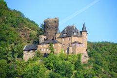 Burg Katz, St. Goarshausen, Rheinland-Pfalz