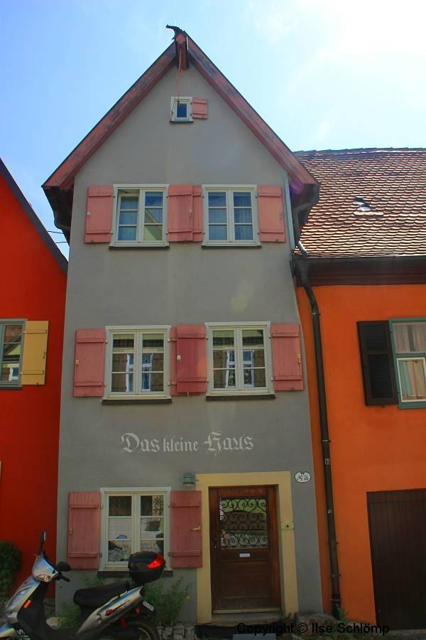 Dinkelsbühl, Das kleine Haus