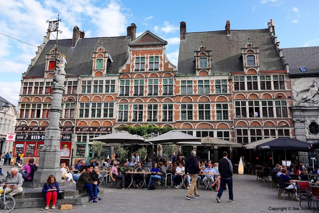 Belgien, Gent, Sint-Veerleplein