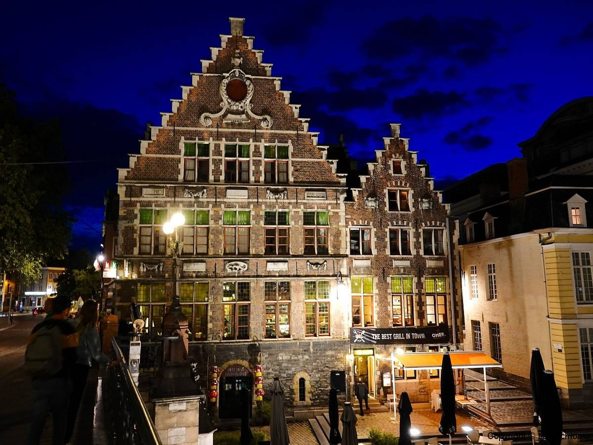 Belgien, Gent bei Nacht